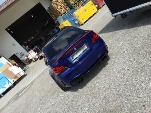 BMW 1er-M-coupe vollbeklebung blau metallic vfv-werbetechnik cfc muenchen06