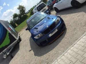 BMW 1er-M-coupe vollbeklebung blau metallic vfv-werbetechnik cfc muenchen14