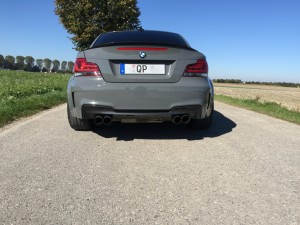 BMW 1er M Coupe grau uni vollbeklebung vfv-werbetechnik cfc-muenchen - 10