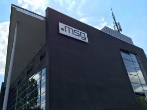 Firmenschild MSG