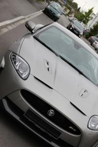 Jaguar XKR S vollbeklebung vfv brushed titanium 10
