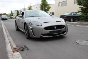 Jaguar XKR S vollbeklebung vfv brushed titanium 11