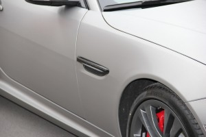 Jaguar XKR S vollbeklebung vfv brushed titanium 12