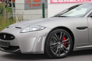 Jaguar XKR S vollbeklebung vfv brushed titanium 2