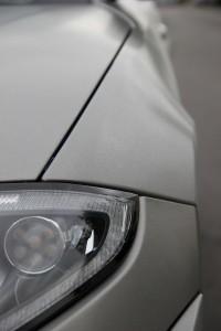 Jaguar XKR S vollbeklebung vfv brushed titanium 21