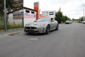 Jaguar XKR S vollbeklebung vfv brushed titanium 3