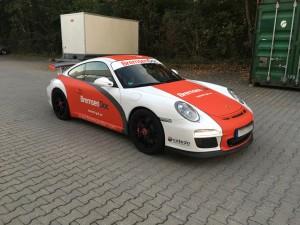 Porsche 997 GT3 Vollbeklebung Design VFV-Werbetechnik - 1