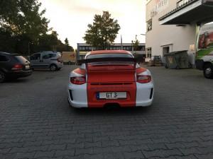 Porsche 997 GT3 Vollbeklebung Design VFV-Werbetechnik - 10