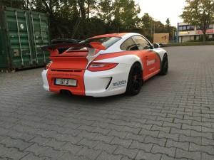 Porsche 997 GT3 Vollbeklebung Design VFV-Werbetechnik - 12