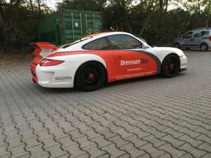 Porsche 997 GT3 Vollbeklebung Design VFV-Werbetechnik - 13