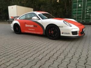 Porsche 997 GT3 Vollbeklebung Design VFV-Werbetechnik - 14