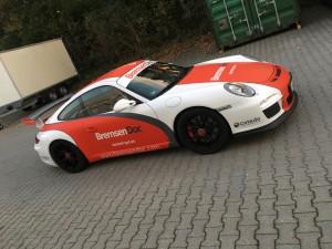 Porsche 997 GT3 Vollbeklebung Design VFV-Werbetechnik - 15