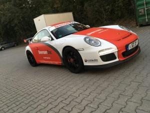 Porsche 997 GT3 Vollbeklebung Design VFV-Werbetechnik - 16