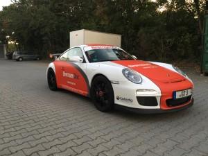 Porsche 997 GT3 Vollbeklebung Design VFV-Werbetechnik - 2