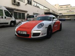 Porsche 997 GT3 Vollbeklebung Design VFV-Werbetechnik - 5