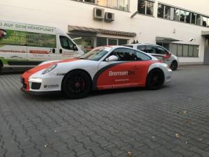 Porsche 997 GT3 Vollbeklebung Design VFV-Werbetechnik - 6