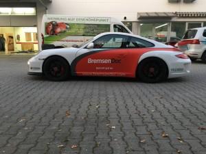 Porsche 997 GT3 Vollbeklebung Design VFV-Werbetechnik - 7