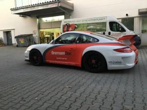 Porsche 997 GT3 Vollbeklebung Design VFV-Werbetechnik - 8