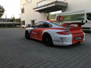 Porsche 997 GT3 Vollbeklebung Design VFV-Werbetechnik - 9
