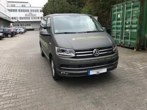 VW T6 Vollverklebung Matt Anthracite Metallic VFV-Werbetechnik - 10