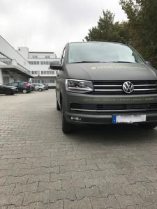 VW T6 Vollverklebung Matt Anthracite Metallic VFV-Werbetechnik - 11